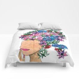 Exotic Beauty Comforters