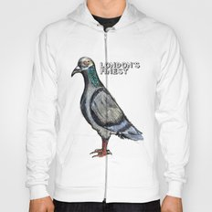 London's Finest: The Grey Pigeon Hoody
