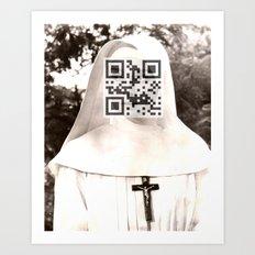 Audrey Hepburn (The Nun's Story) Art Print
