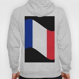 France Flag Wave Hoody
