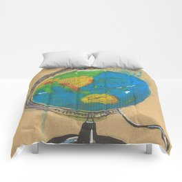 Diddie Doodle the Illuminated Globe Comforters