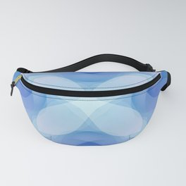 Toulouse Blue Flower Fanny Pack