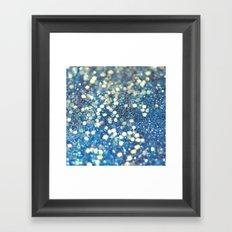 Her Mermaid Sea Framed Art Print