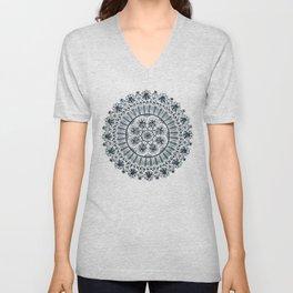 Awaken Nature Mandala Unisex V-Neck