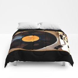 Vintage Pioneer Turntable Comforters