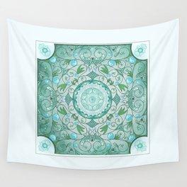 Balance of Nature Healing Mandala Wall Tapestry