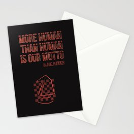 More human than human.Blade Runner Stationery Cards