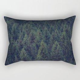Deep In The Woods Rectangular Pillow