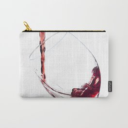 Elegant Red Wine Photo Carry-All Pouch