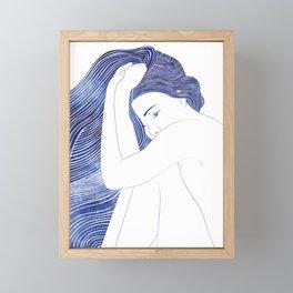 Psamathe Framed Mini Art Print