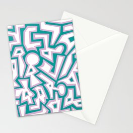 Spring Chaos Stationery Cards