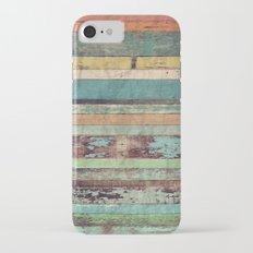Wooden Vintage  Slim Case iPhone 7
