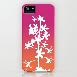 Native Orchid iPhone Case