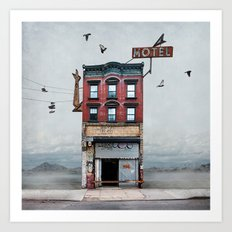 Urban Realty Art Print