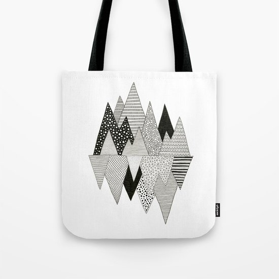 Lost in Mountains Tote Bag