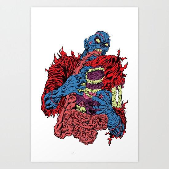 ZOMBI Art Print