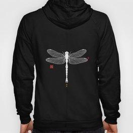 Big Dragonfly In Pastel Tones Hoody