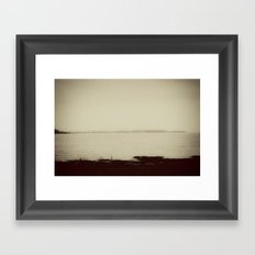 Long Island Sound - New Haven Framed Art Print
