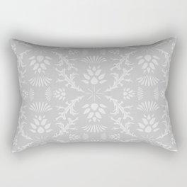 Thistles on Grey Rectangular Pillow