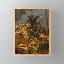 Fall Is Here Framed Mini Art Print