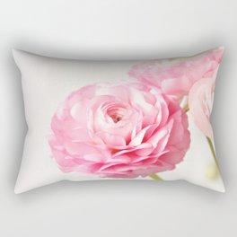 Ranunculus trio Rectangular Pillow