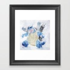 #009 Framed Art Print