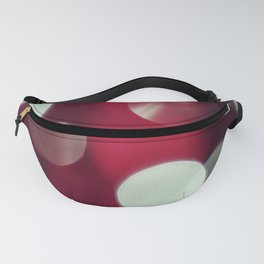 Abstract in Red Fanny Pack