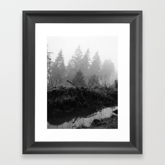 silence Framed Art Print