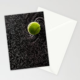 Spin Serve     Tennis Ball Stationery Cards