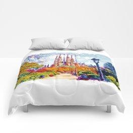 La Sagrada Familia - Park View Comforters