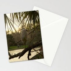 Great Blue Heron Portrait Stationery Cards