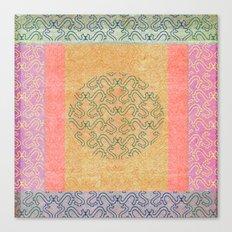 Coral Melody Canvas Print