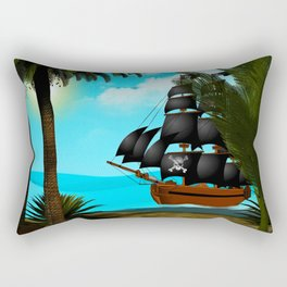 Turquoise Seas Rectangular Pillow