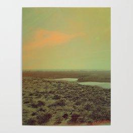Lonely Landscape Poster
