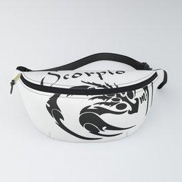 Scorpio Zodiac the Scorpion Fanny Pack