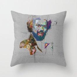 Gill Scott Heron Throw Pillow
