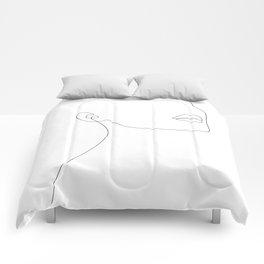 Simple Minimalist Comforters