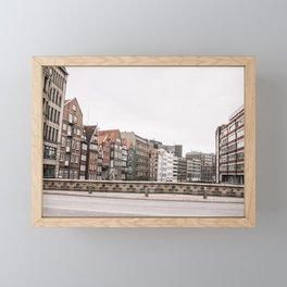Speicherstadt Framed Mini Art Print
