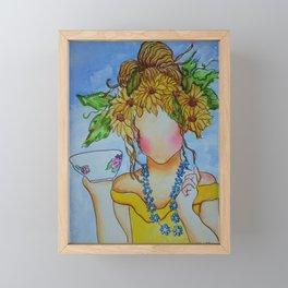 Cup of Tea? Framed Mini Art Print