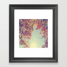 I fell in love with Fall Framed Art Print