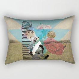 Unshackled, Troublemaker by Lendi Hader Rectangular Pillow
