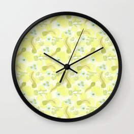 Lilly Pad Wall Clock