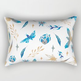 SILENCE THAT DREAMED OF BECOMING A SONG Rectangular Pillow