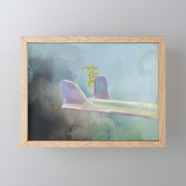 Fins Framed Mini Art Print