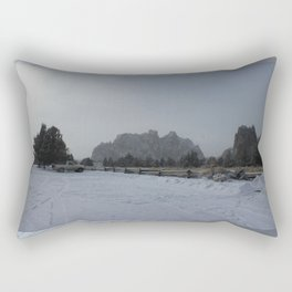 The Blowing Cold Rectangular Pillow