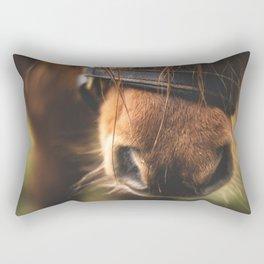 Soft Horse Nose Rectangular Pillow
