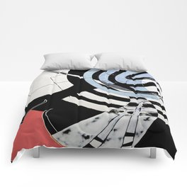 Night Owl Surfers Comforters
