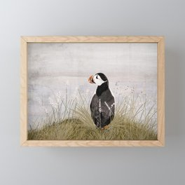 Puffin Framed Mini Art Print
