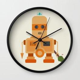 Retro Robot Robo Demolisher Wall Clock
