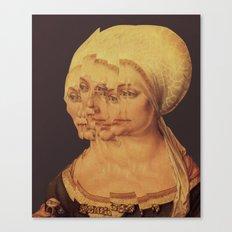 Frau Dürer 201 Canvas Print